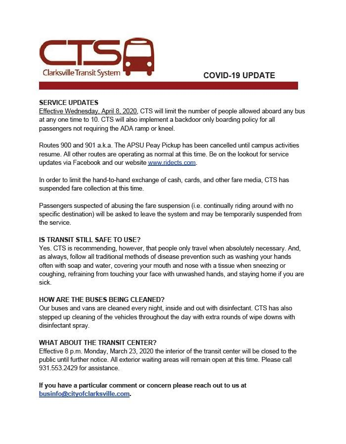 COVID-19 UPDATE AS OF 4-6-2020