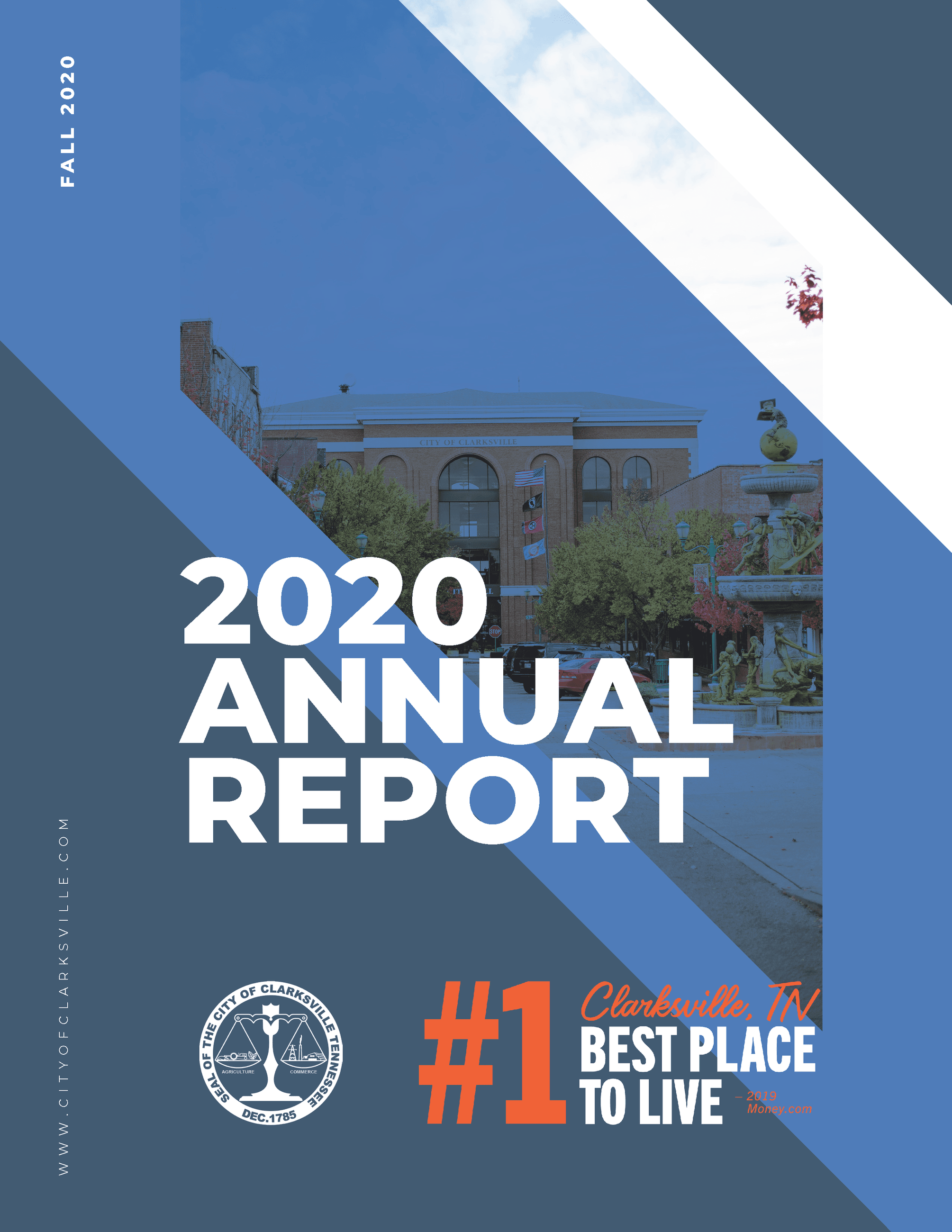 2020 Annual Report Cover