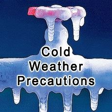 Cold Weather Precautions